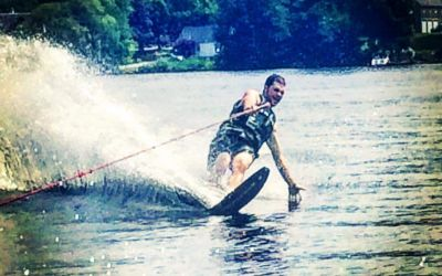Waterskiing Josh 1